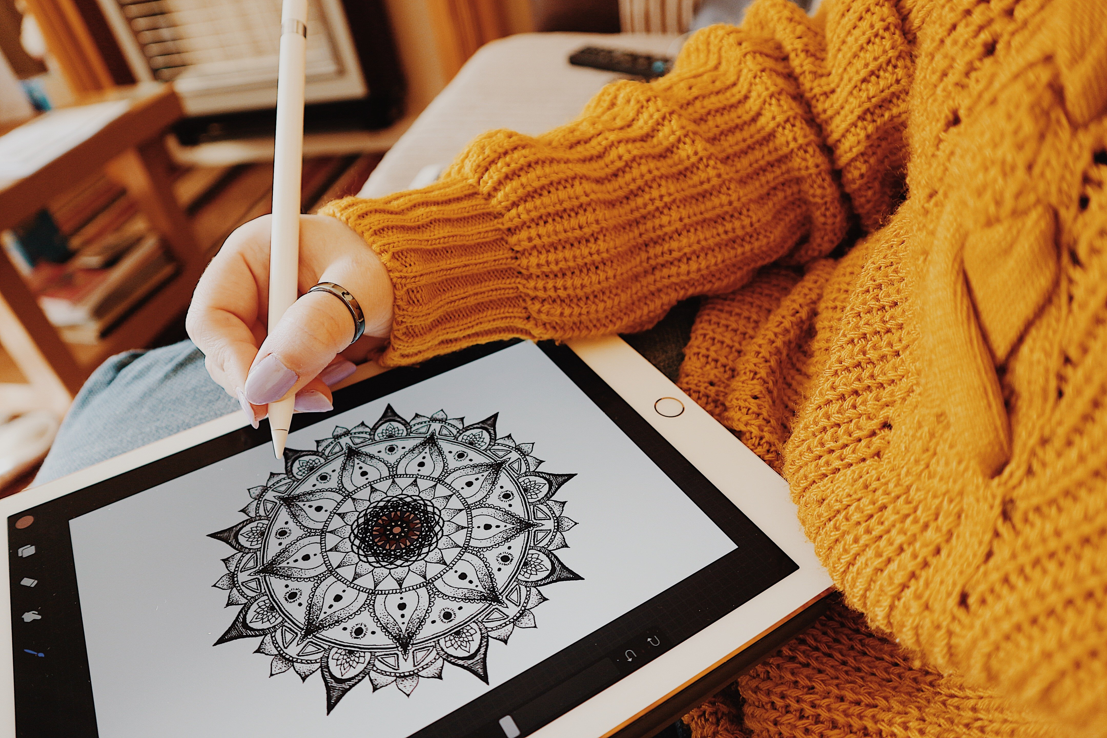 iPad Pro | Apple Pencil | Mandalas | Self Care